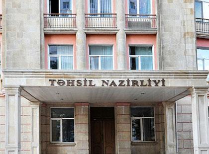 Təhsil Nazirliyi hökumətə müraciət edib - Dərslik problemi