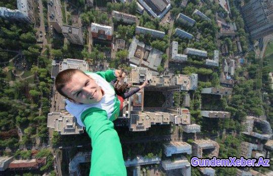 Ən çılğın selfielər – FOTO