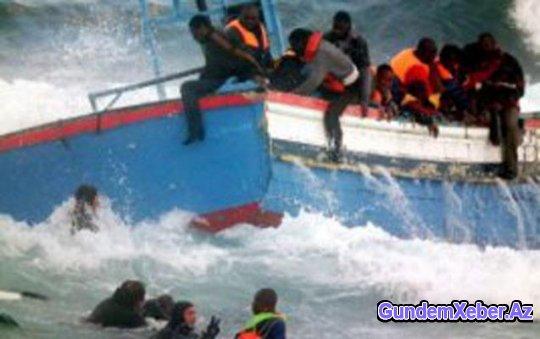 Gəmi batdı, 18 ölü, 4 itkin