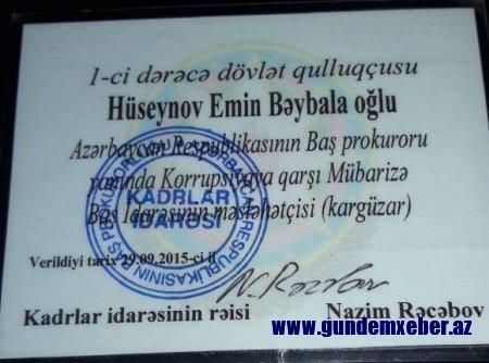 Baş Prokurorluq əməkdaşının müəmmalı ölümü Rüstəm Usubovu hərəkətə gətirdi - FOTO/VİDEO