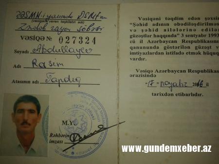 Şəhid Anası İcra Başçısının əlindən intihar etmək istəyir… -FOTOLAR