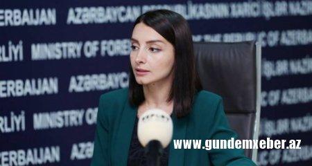 """Leyla Abdullayeva: """"Ermənistan üçtərəfli bəyanatın mahiyyətini tam anlamayıb"""""""