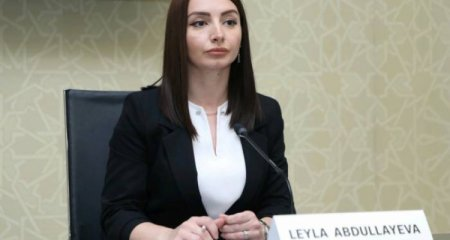 Leyla Abdullayeva Qarabağda minatəmizləmə işlərinin statistikasını açıqladı
