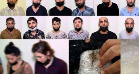 Bakı polisindən genişmiqyaslı əməliyyat: 16 nəfər saxlanıldı - Video