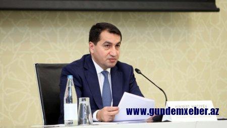 Hikmət Hacıyev yenidən İranın Azərbaycandakı səfiri ilə görüşdü (FOTO)