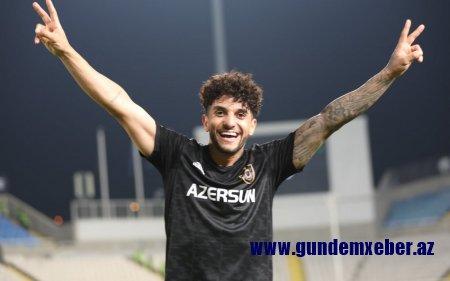 """Konfrans Liqası: """"Qarabağ""""ın futbolçusu ən yaxşı qolun müəllifi seçilib"""