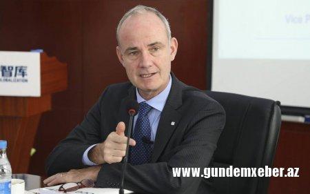 BQXK-nın vitse-prezidenti Azərbaycana gəlib
