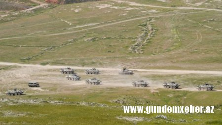 Azərbaycan ordusu Laçında təlimlərə başladı