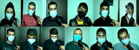 Sumqayıtda narkotik vasitələrin qanunsuz dövriyyəsi    ilə məşğul olan qadın və daha 11 nəfər saxlanılıb -FOTO