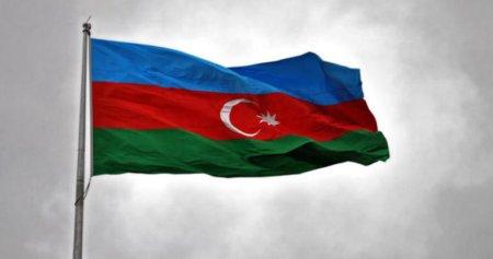 Goranboyda Azərbaycan bayrağına hörmətsizlik - VİDEO