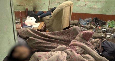 DİN Bakının mərkəzindəki narkomanlar yuvası ilə bağlı hərəkətə keçdi: Naryad qrupu cəlb edildi - Video