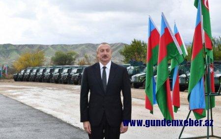 Ali Baş Komandan Qubadlıda DSX-nin yeni hərbi hissə kompleksinin açılışında iştirak edib