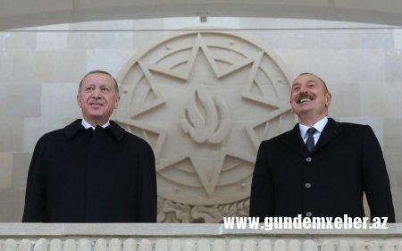 Ərdoğan bu gün Azərbaycana səfərə gəlir