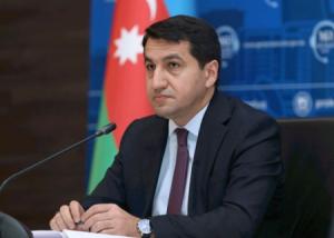 """""""Ermənistan Suqovuşanı işğal etməkdə..."""" - Hikmət Hacıyev"""