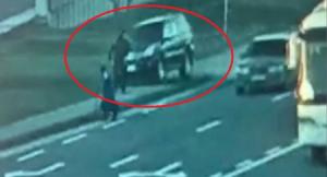 """Bakıda """"Prado"""" polisi vurub öldürdü - HADİSƏ ANI"""