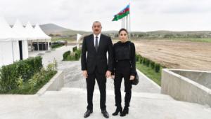 Prezident və birinci xanım Zəngilanın Ağıllı kəndində həyata keçirilən işlərlə tanış olub (YENİLƏNİB)